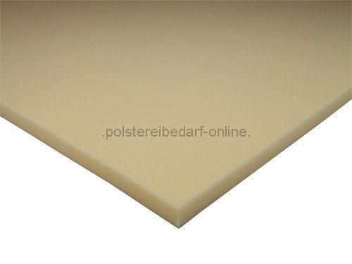 schaumstoff platte 200cm x 130cm x 2cm rg 50 75. Black Bedroom Furniture Sets. Home Design Ideas