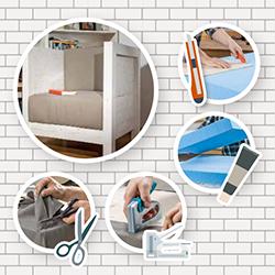 polsteranleitungen zum ausdrucken. Black Bedroom Furniture Sets. Home Design Ideas