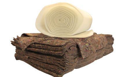Polsterwatte schützt Ihre Möbel vor Abrieb durch Schaumstoff