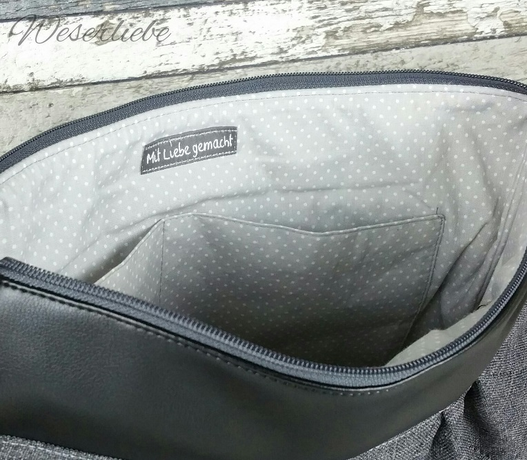 Nähanleitung für eine Handtasche