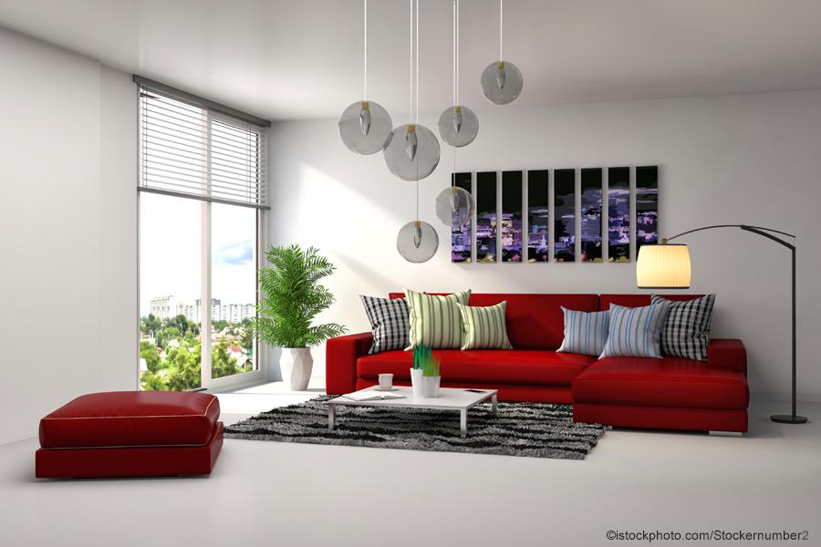 raumgestaltung mit farbe rote akzente setzen, wohn(t)räume: wirkung von farben, Design ideen
