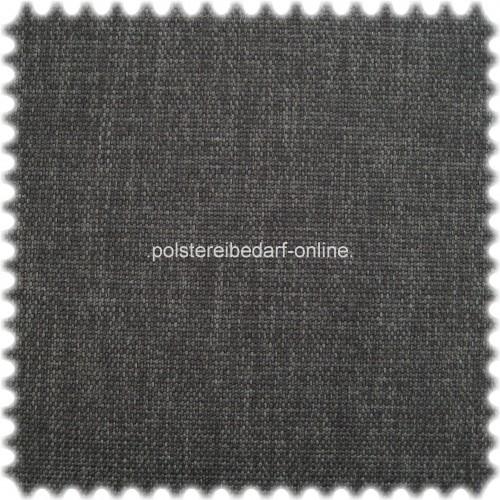 Polyester Objekt Möbelstoff Karat Anthrazit mit Fleckschutz