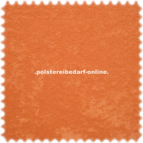 TOP PREIS AKTION Microfaser Möbelstoff Poker Orange