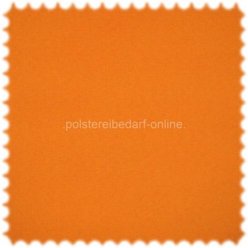 UV Beständiger Outdoor & Boot Möbelstoff Solar-Uni Orange mit Sanitized®Ausrüstung