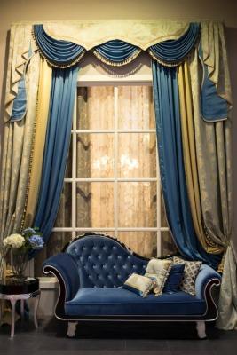 Die geschichte der gardinen for Gardinen barock
